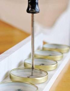 Scaffale da cucina spezie fatta da un pallet4
