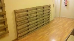 Giardino verticale realizzato con pallet2