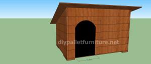 Progetto e piani per costruire una cuccia con i pallet (10)