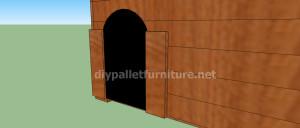 Progetto e piani per costruire una cuccia con i pallet (11)