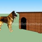 La cuccia con pallet di manoumobili con pallet mobili for Piani di casa con la stanza del cane
