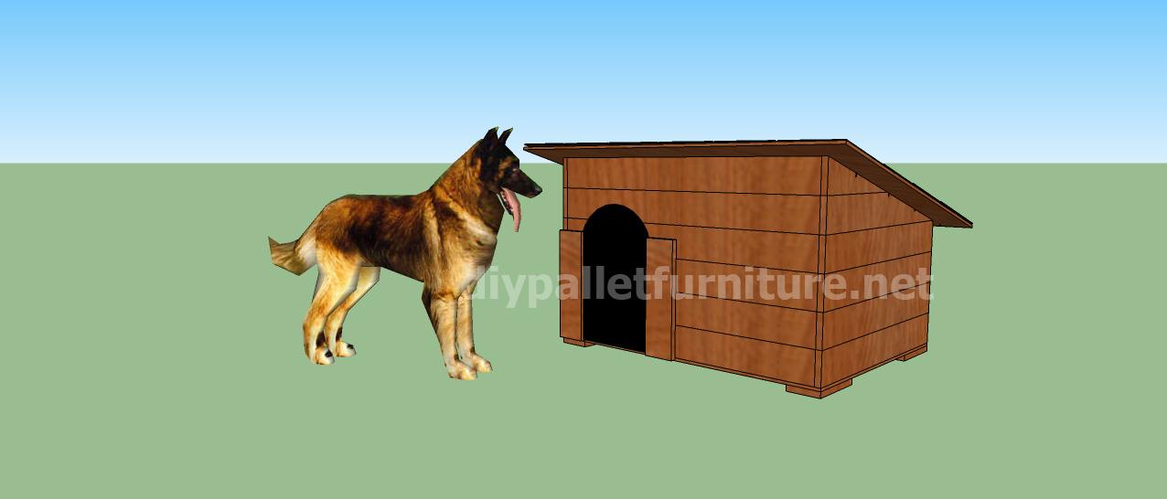 Progetto e piani per costruire una cuccia con i for Costo per costruire una casa a due piani