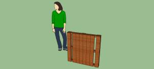 Progetto e piani per costruire una cuccia con i pallet