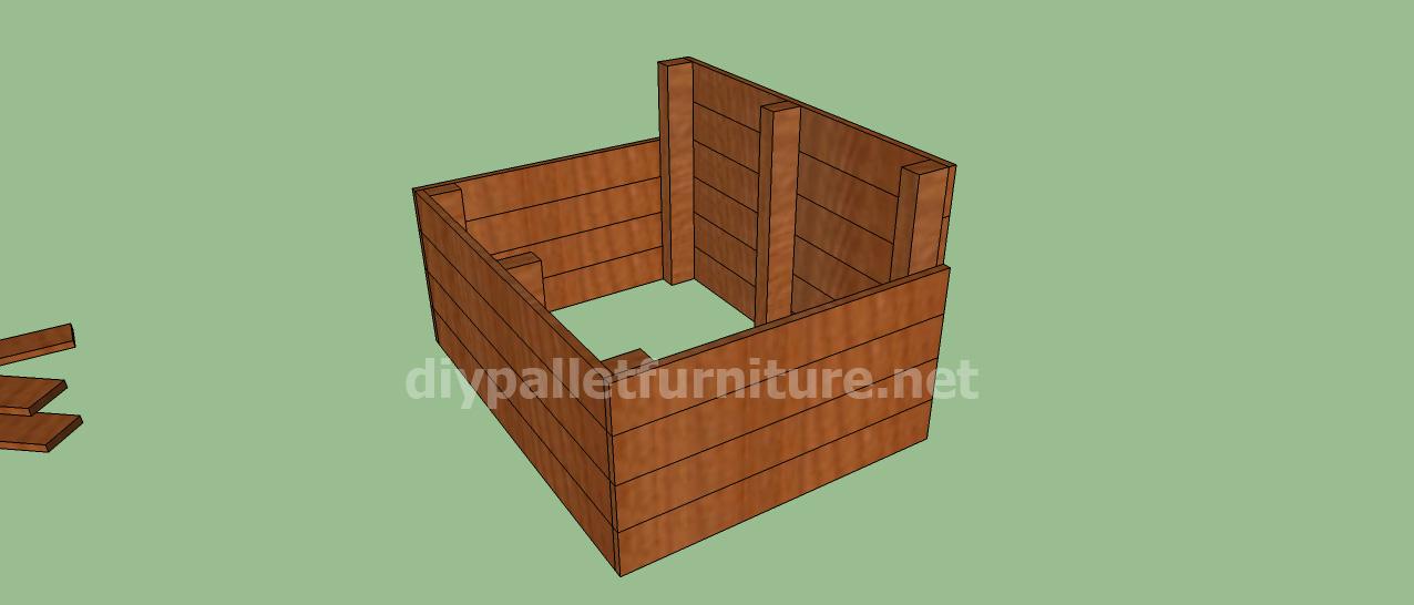 Amato Progetto e piani per costruire una cuccia con i palletMobili con  QJ09