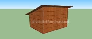 Progetto e piani per costruire una cuccia con i pallet (8)