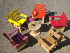 Sedie per il patio e un'amaca per prendere il sole