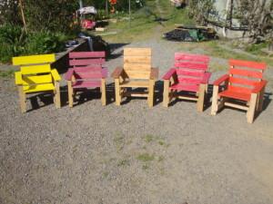 Sedie per il patio e un'amaca per prendere il sole2