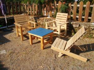 Sedie per il patio e un'amaca per prendere il sole4