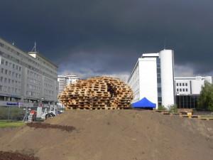 Brodno parco tematico costruito con pallet in Targowek , Varsavia4