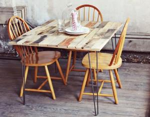 Come fare un tavolo rustico -vintage con tavole pallet (11)