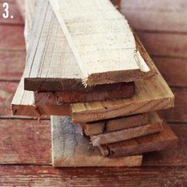Come fare un tavolo rustico -vintage con tavole pallet (6)