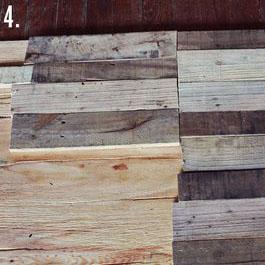 Come fare un tavolo rustico -vintage con tavole pallet (7)