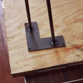 Come fare un tavolo rustico -vintage con tavole pallet (9)