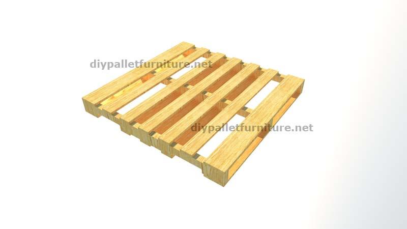Le istruzioni su come fare un portabottiglie di legno con - Weinregal palette ...