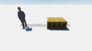 Istruzioni e progetti 3D di come fare un divano per il giardino con i pallet 1