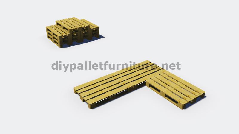 Exceptionnel Istruzioni e progetti 3D di come fare un divano per il giardino  WZ67