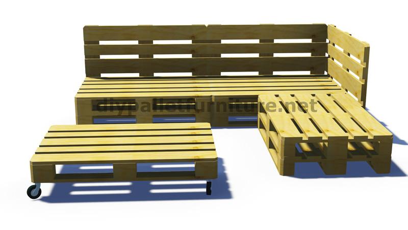 Très Istruzioni e progetti 3D di come fare un divano per il giardino  EL83