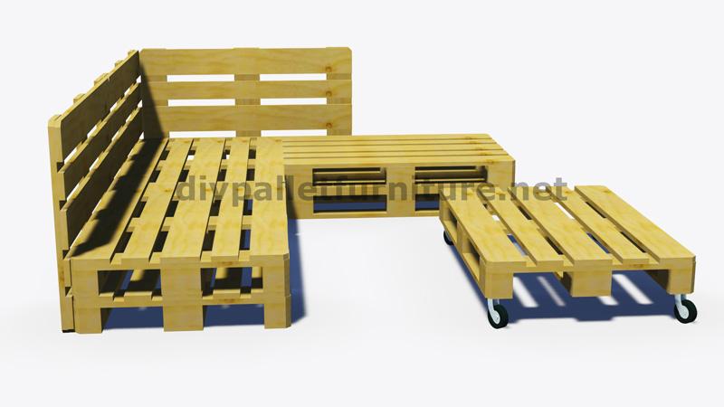 Divano Giardino Con Bancali ~ Idee per il design della casa