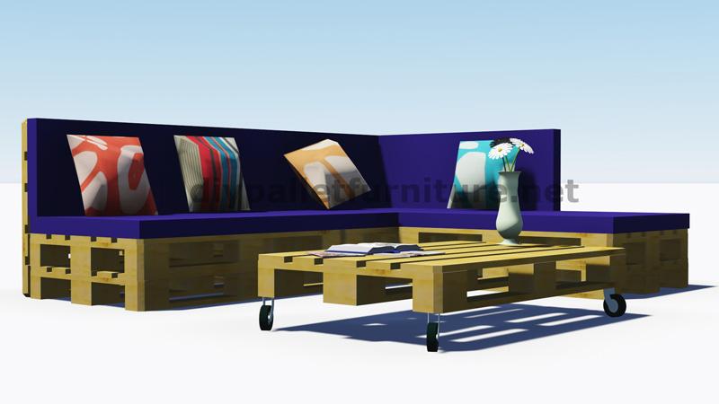 Istruzioni e progetti 3d di come fare un divano per il - Tappezzare divano ...