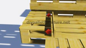 Le istruzioni su come fare un letto con i pallet5
