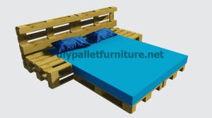 Le istruzioni su come fare un letto con i pallet7