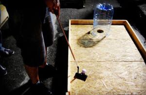 Minigolf fatto con i pallet 10