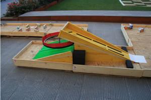 Minigolf fatto con i pallet 4