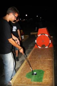 Minigolf fatto con i pallet 9