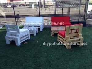 Mobili da giardino realizzati con pallet (2)