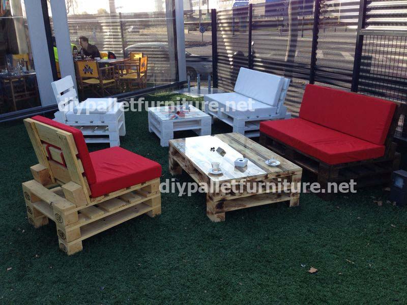 Mobili da giardino realizzati con palletmobili con pallet for Pallet arredo giardino
