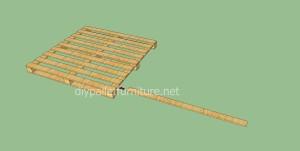 Pavimenti semplice realizzato con pallet di legno3