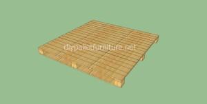 Pavimenti semplice realizzato con pallet di legno5