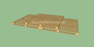 Pavimenti semplice realizzato con pallet di legno9