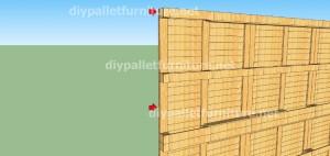 Piani e video di come fare una casa con i pallet ( 2 di 3) (7)