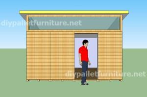Piani e video di come fare una casa con i pallet 3 di 3 for Design della casa a 3 piani