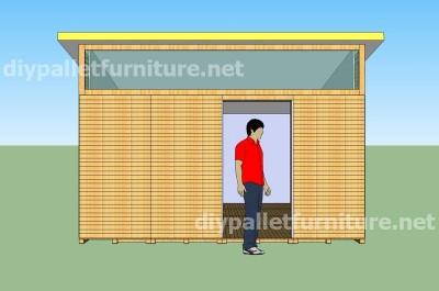 Piani e video di come fare una casa con i pallet 3 di 3 for Moderni piani di casa eco