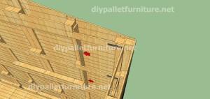 Piani e video di come fare una casa con i pallet ( 3 di 3) 6