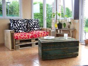 Video esempi di mobili realizzati con pallet