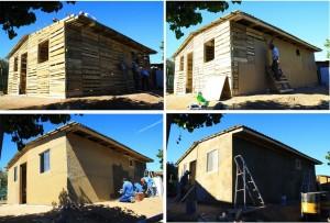 Case auto-costruito popolari con pallet di legno