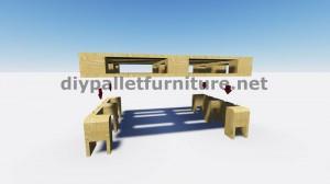 Cool tavoli con solo 2 pallets 4