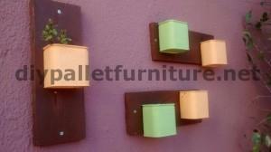 Divano e tavolo per la terrazza realizzata con pallet 4