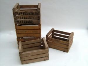 Diverse idee originali su ripiani di cassette di frutta