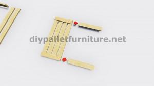 IInstructions di come fare una lampada con pallet di legno 4