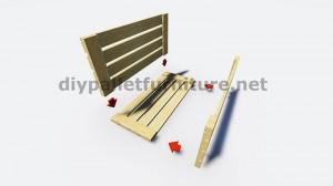 IInstructions di come fare una lampada con pallet di legno 5