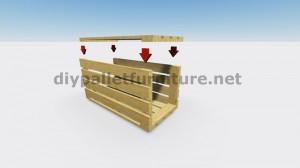 IInstructions di come fare una lampada con pallet di legno 6