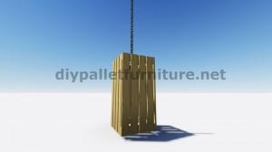 IInstructions di come fare una lampada con pallet di legno 7