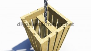 IInstructions di come fare una lampada con pallet di legno 8