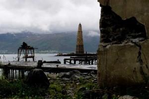 In una città norvegese una grande torre con i pallet -è stato creato per bruciarlo5