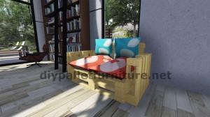 Istruzioni passo passo e piani su come realizzare un divano con pallet facilmente 8