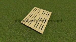 Istruzioni passo passo su come fare un letto sospeso con i pallet 3
